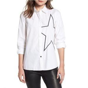 New Current/Elliott The Elenora Shirt 3 (large)